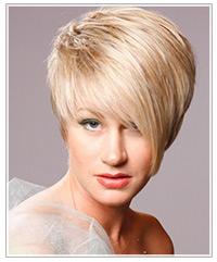 Short bridesmaids hairstyle